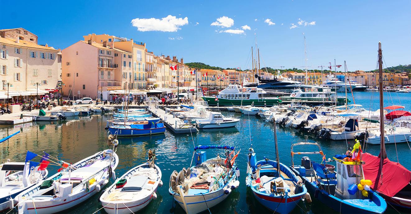 Dovolená na jachtě v Saint Tropez