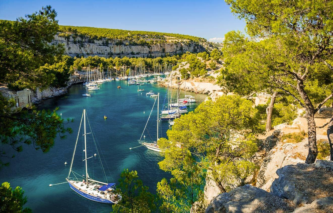 Dovolená na jachtě ve Francii