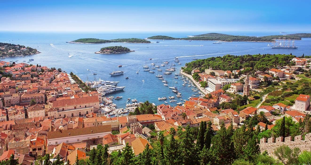 Dovolená na plachetnici v Chorvatsku