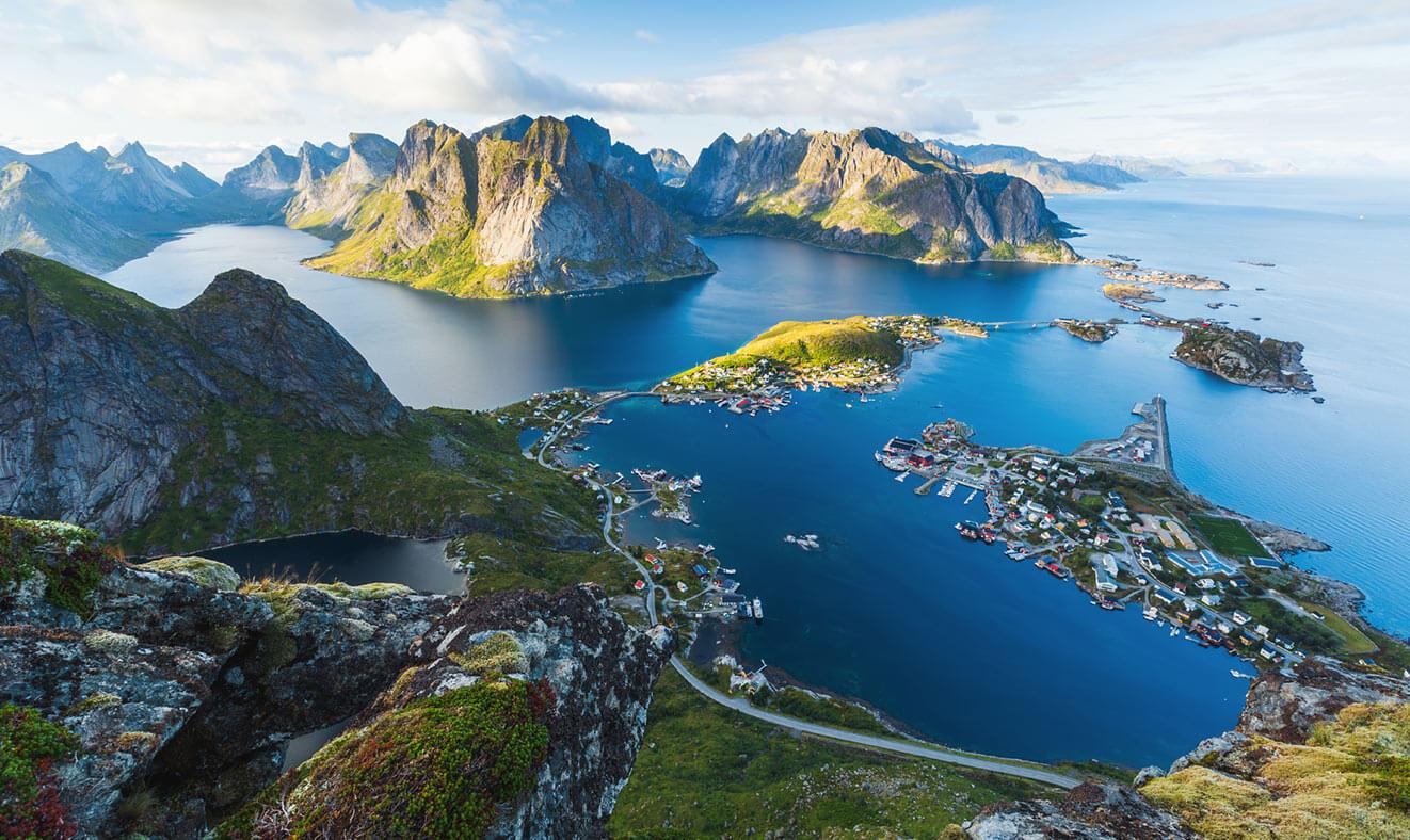 Dovolená na plachetnici v Norsku