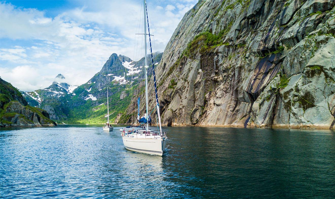 Jachting mezi fjordy
