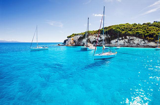 La Grecia in barca a vela