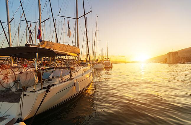 Rodinná dovolená na jachtě