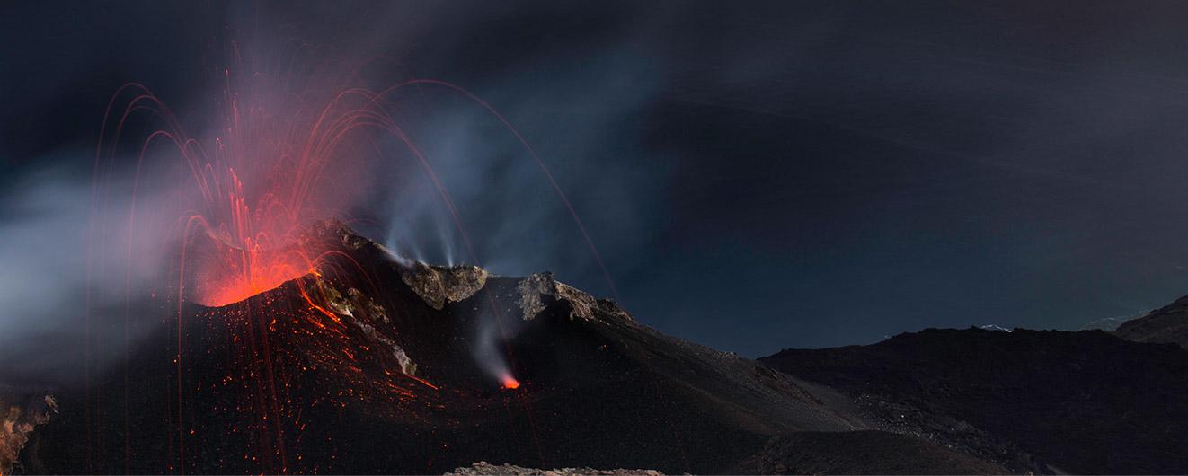 Vulkán Stromboli