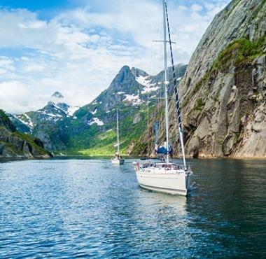 Norsko na jachtě